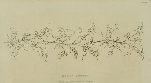 EKDuncan - My Fanciful Muse: Regency Era Needlework Patterns from Ackermann's Repository 1821-1825