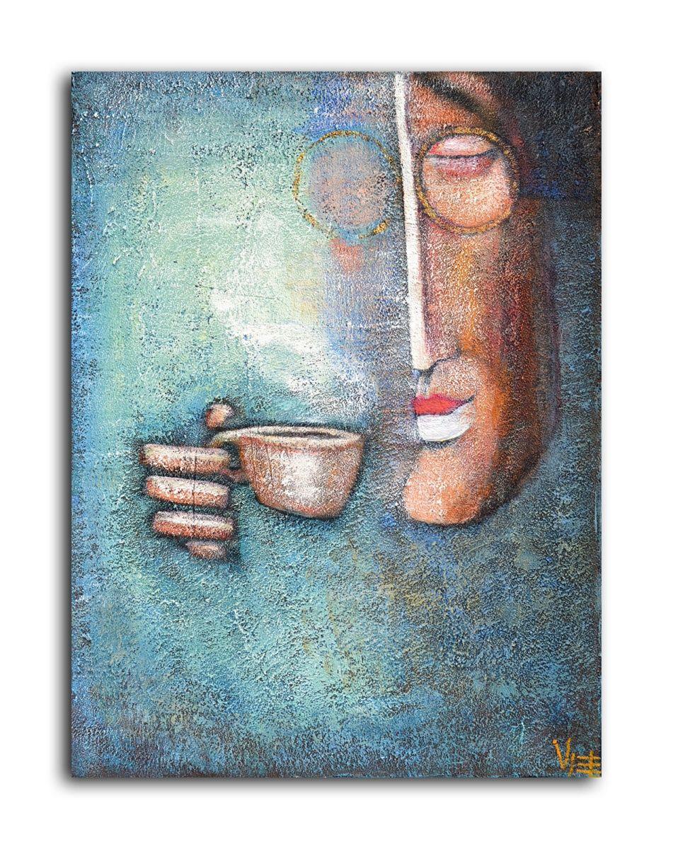 Visier, Painting by Zhana Viel | Artfinder
