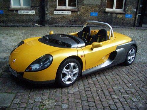 фото авто 1997 renault sport spider