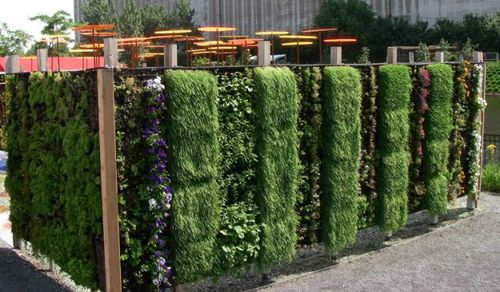 Outdoor Planters We Need Something Like This To Hide The Well And Electrical Box Living Wall