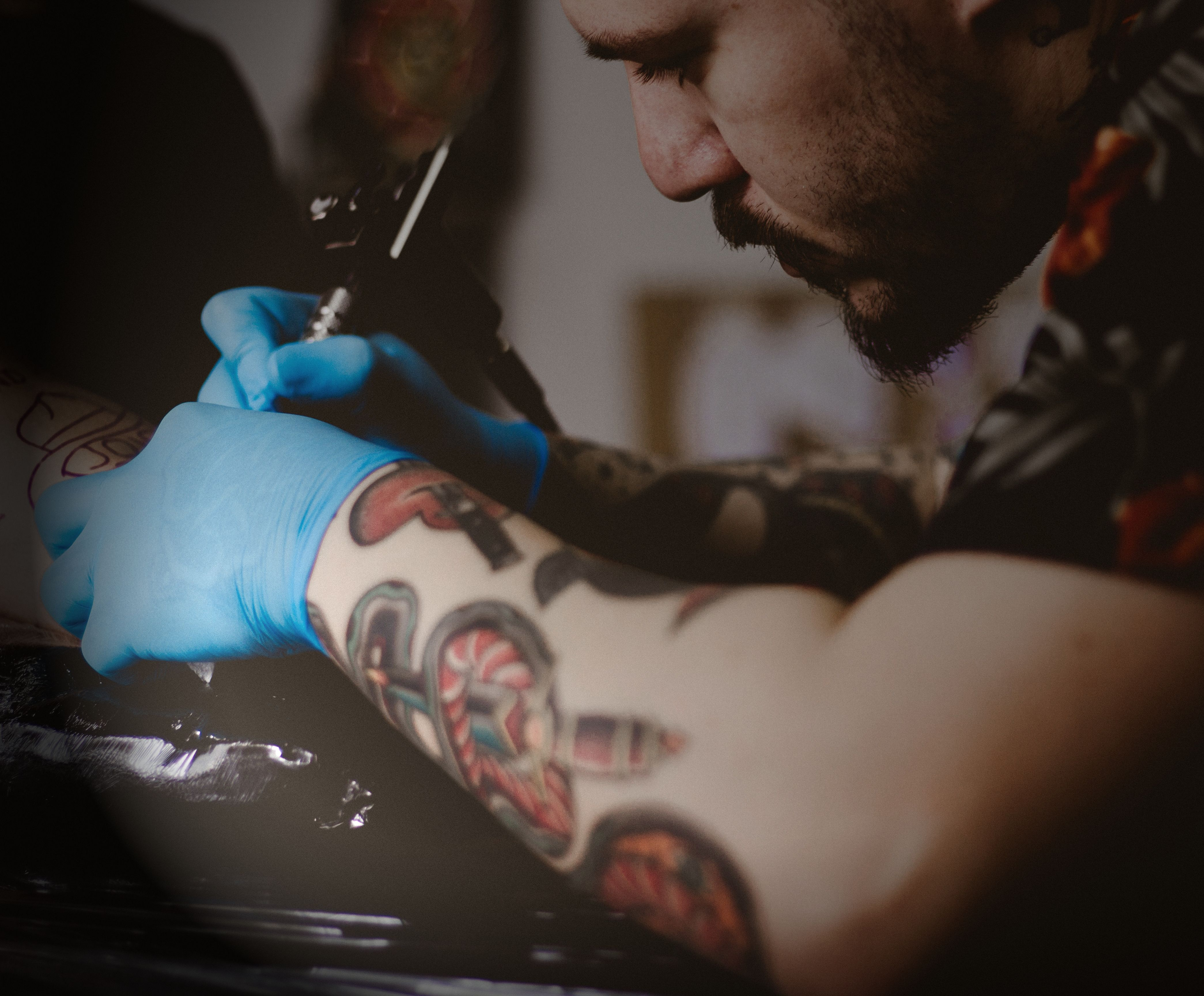 Cool tattoo designs for your hand beards and tattoos go hand in hand we love them and are massive
