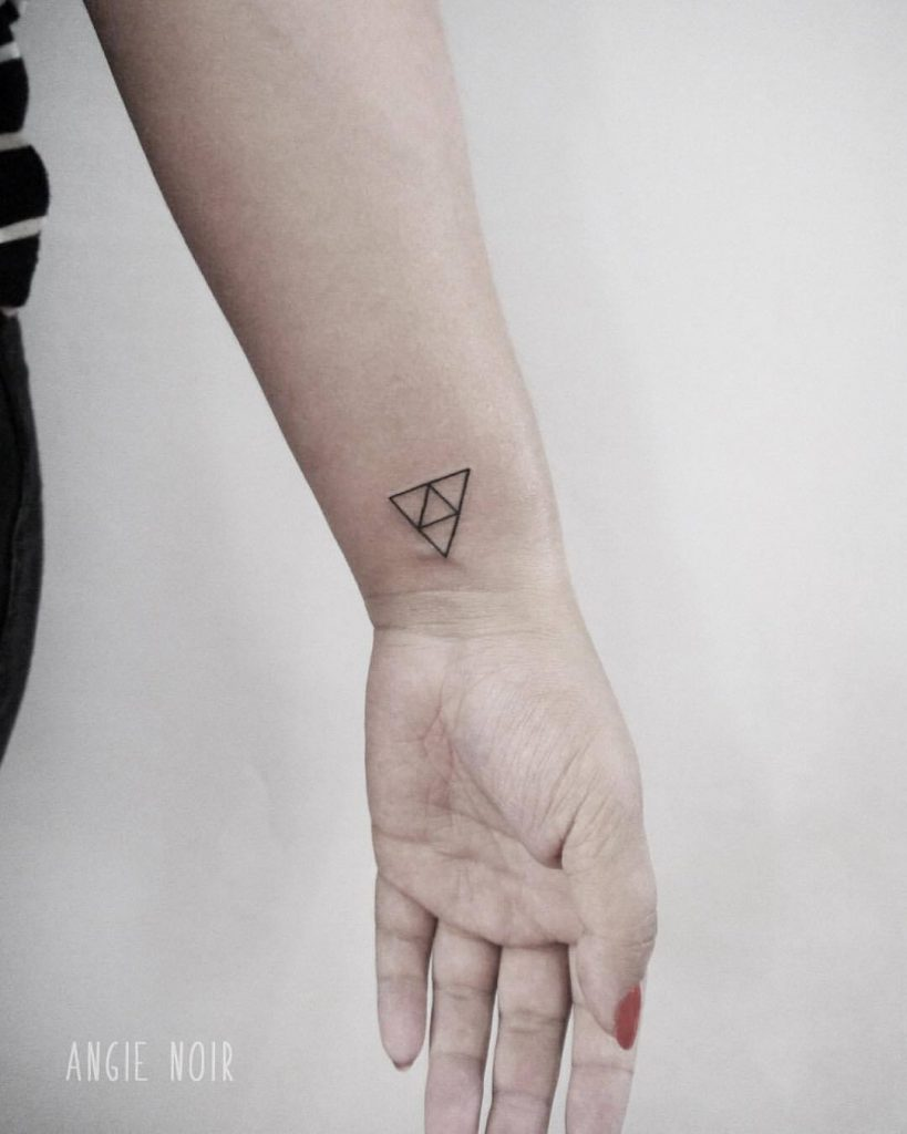 triforce tattoo Google Search Cool wrist tattoos