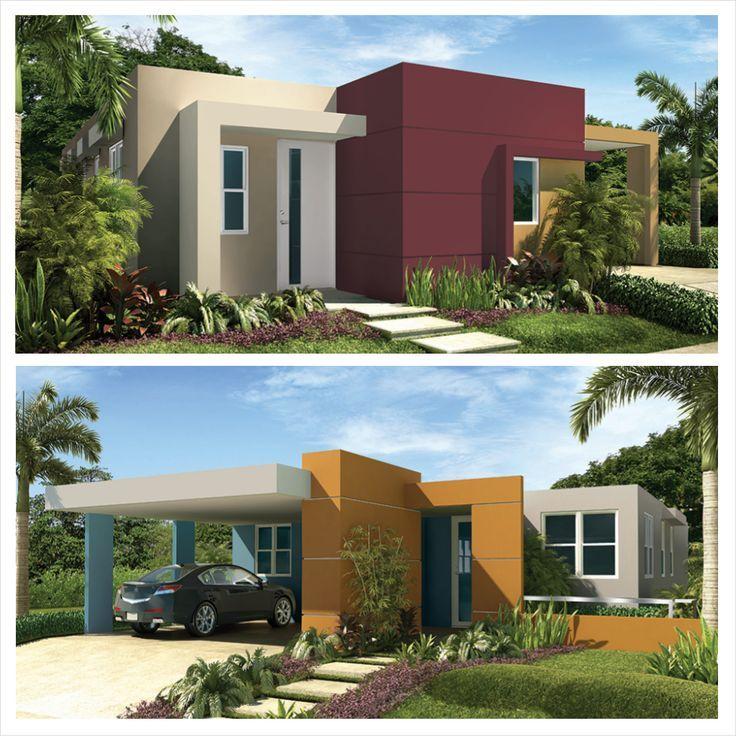 Colores vivos para paredes exteriores buscar con google for Pintura para fachadas de casas modernas