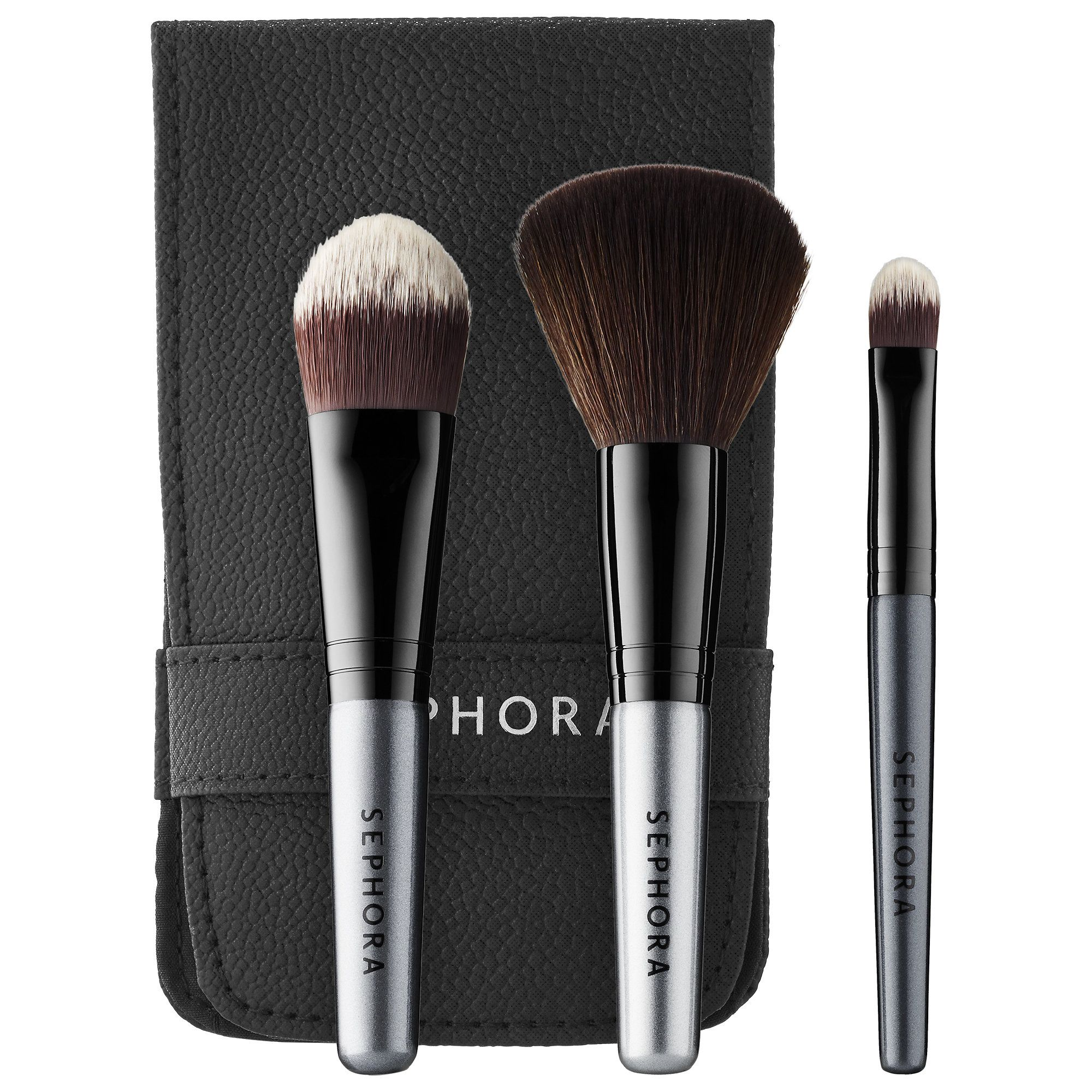 Deluxe Charcoal Antibacterial Brush Set by Sephora Collection #16