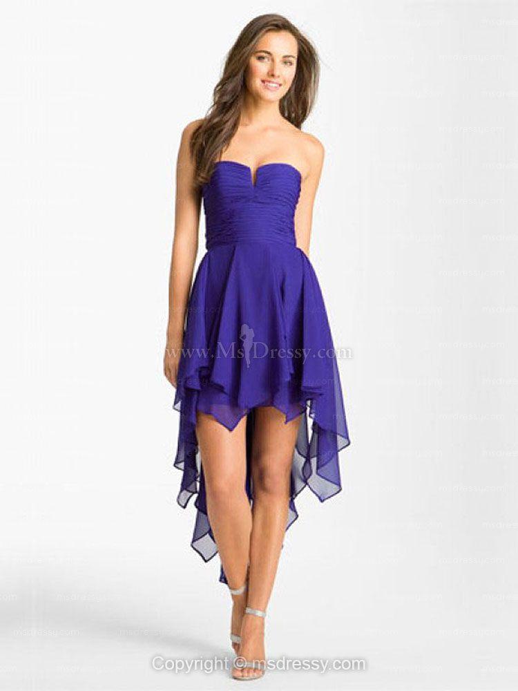 high-low prom dress | Grad! | Pinterest | Vestiditos y Belleza