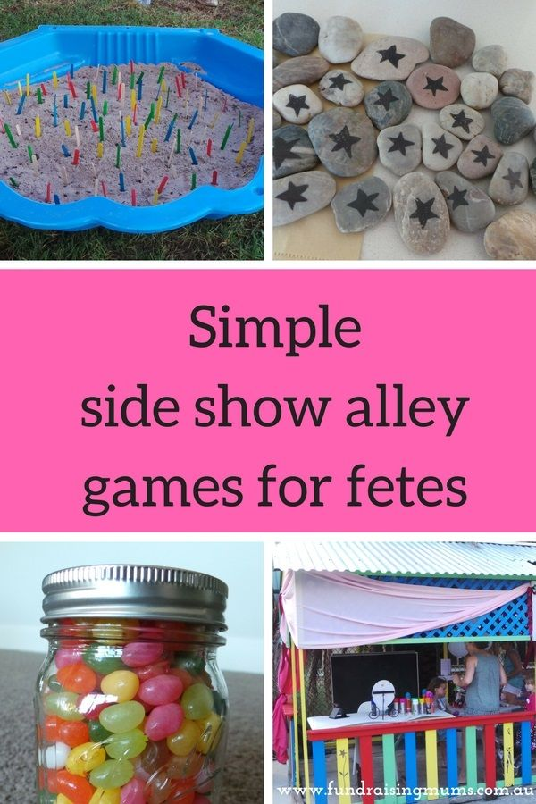 Simple Sideshow Alley For Fetes