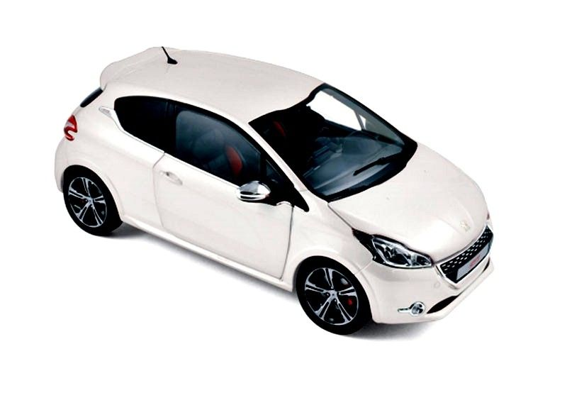 Peugeot 208 GTi 2013 - Pearl White - Diecast Auto Models | Hobbyland ...