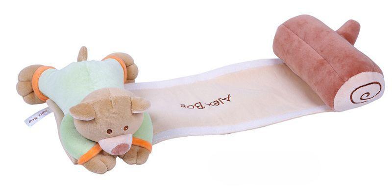 Cojín antivuelco ideal para recién nacido. Permitiendo mayor tranquilidad mientras el bebé descansa. Se sentirá acompañado por el fiel osito Honey.    medidas: 10cm x 50cm x 20cm