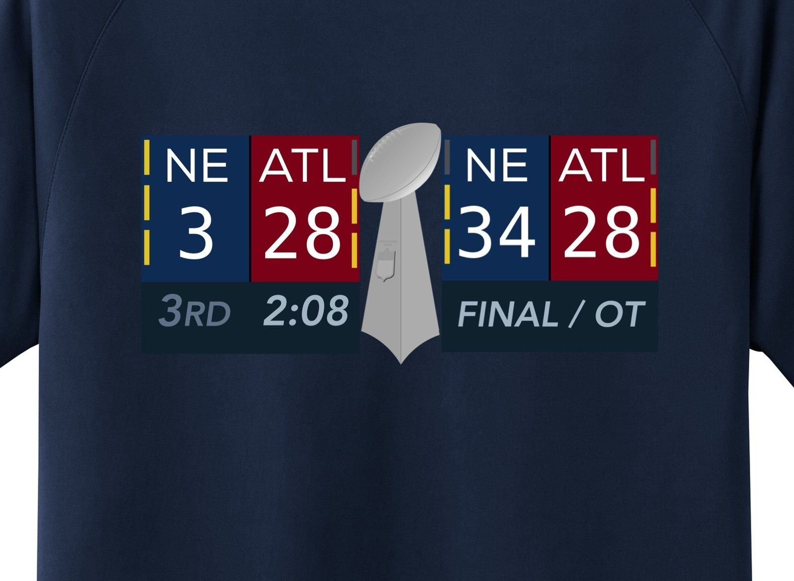 d99a73b86 Patriots Super Bowl Comeback Tee Shirt