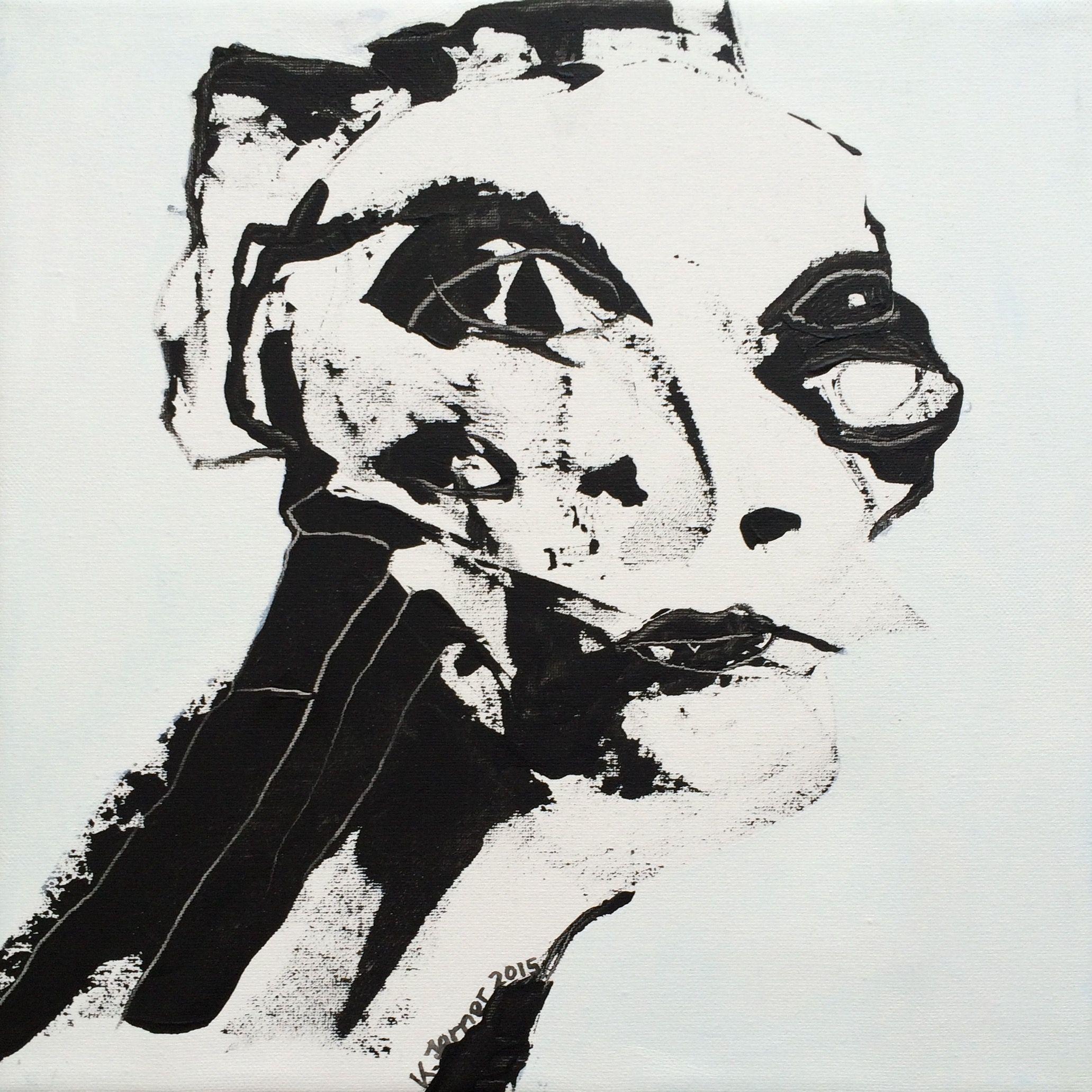 'Alien'. Kell Jarner, 2015. 28x28 cm.