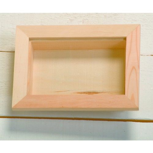 rectangular wooden deep shadow box frame with removable perspex 8 x 12 x wooden shadow boxes box frames plain wooden boxes decoupage blanks