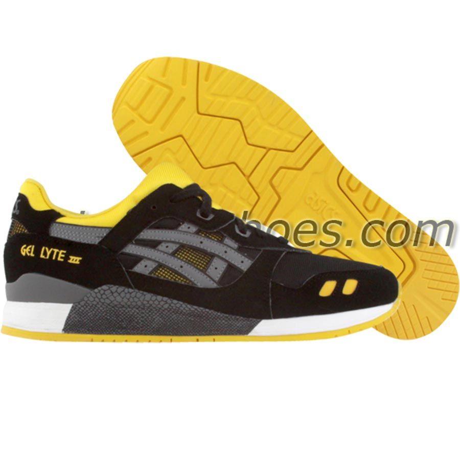 Asics Gel-Lyte III (black / yellow