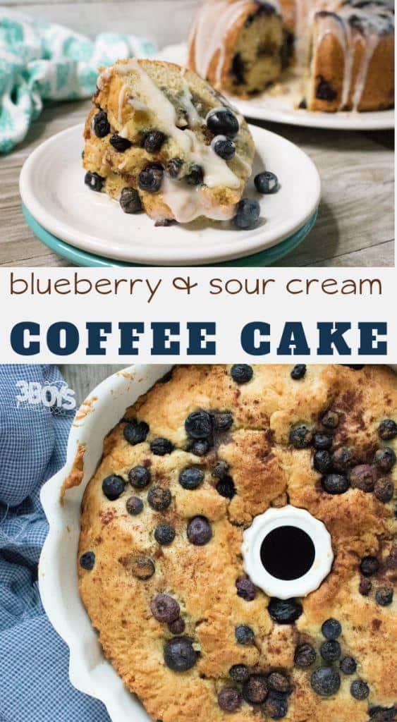 Blueberry Sour Cream Coffee Cake Recipe Recipe Sour Cream Coffee Cake Coffee Cake Recipes Dessert Recipes Easy