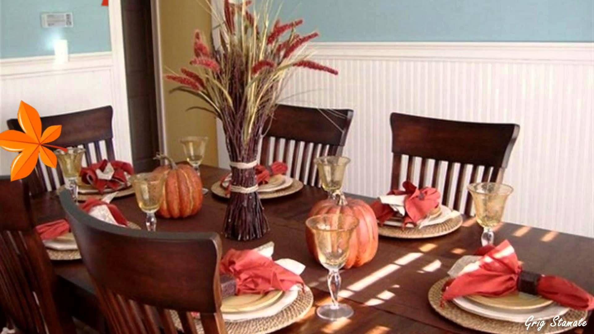 Autumn Table Setting Ideas Fall Decorations Youtube. home decor liquidators. vintage home decor. pinterest home decor ideas. home office decor.