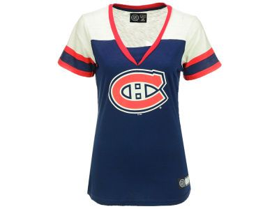 competitive price 21351 717bb Montreal Canadiens GIII NHL Women's Cut & Sew V-Neck T-Shirt ...