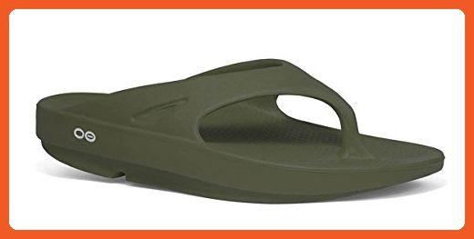 00ec0b16c17b5 Ofoos OOriginal Unisex Sandal Forest Green (Includes Free Red Foot ...