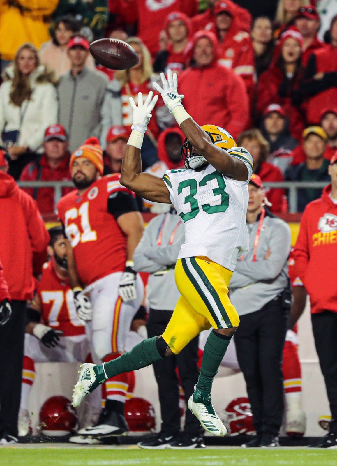 Packers Over Chiefs In A Nail Biter 31 24 Total Packers Packers Red Zone Usa Today Sports