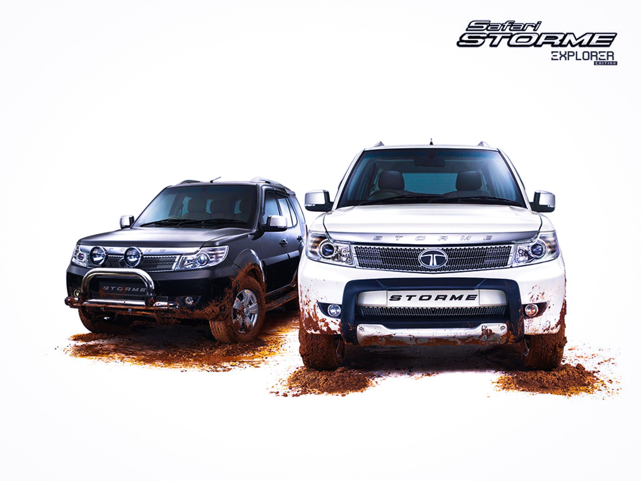 Tata Safari Storme Explorer Edition.