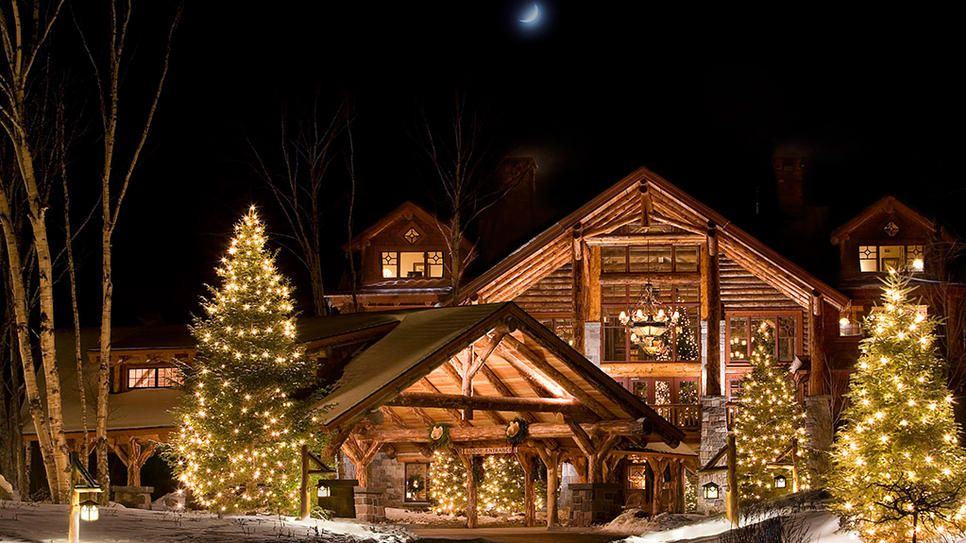Lake Placid, New York Christmas in a magical place like