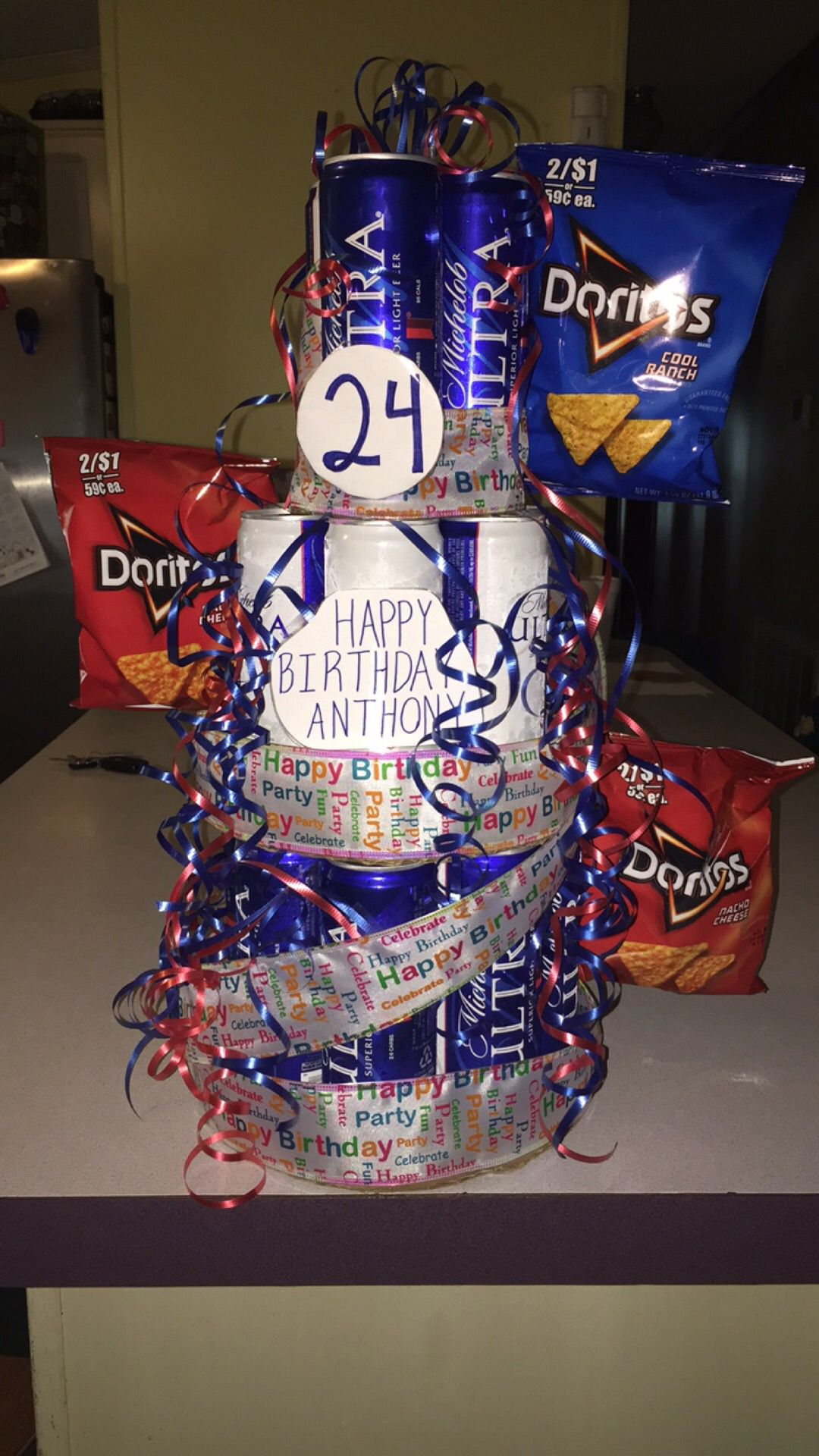 Beer Cake DIY Ideas For Guys Birthday Gifts Him 24th