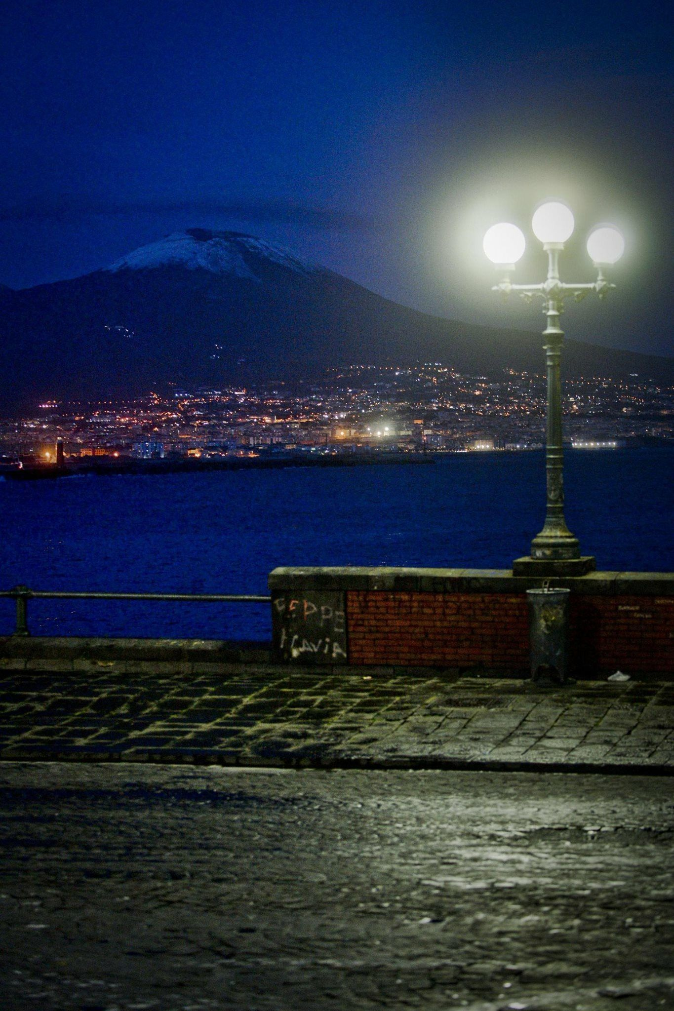 Di Notte Napoli Paesaggi Citta