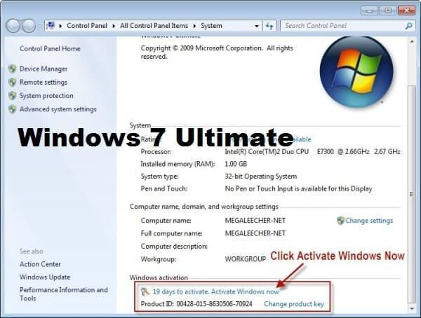 Windows 7 Ultimate Serial Key 64 Bit 100 Working Free Windows Microsoft Office Word This Or That Questions