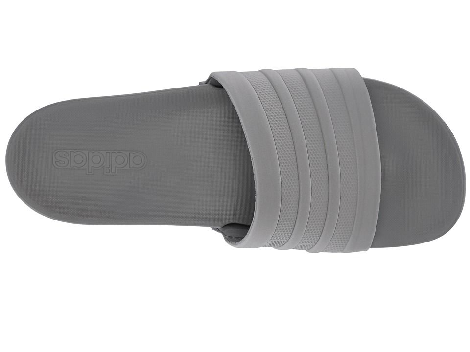 Adidas adilette cloudfoam mono Classic zapatos GRIS 3 / gris 3 Pinterest
