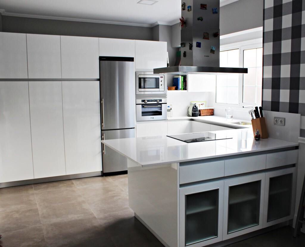 Cocinas de dise o en madrid al mejor precio cocina completa tienda muebles de cocina en madrid - Muebles de cocina madrid ...