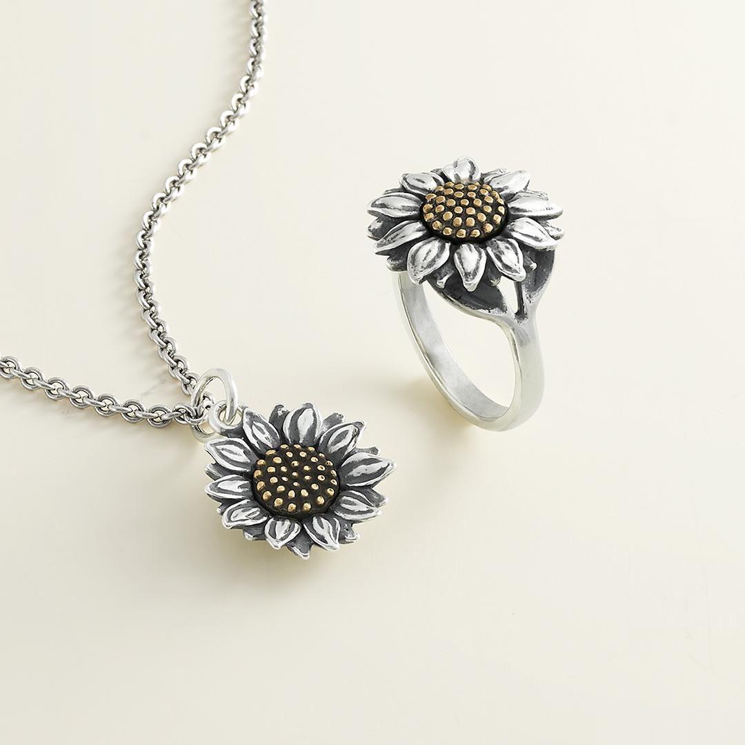 Find Joy In The Journey Flower Cross Bracelet For Women