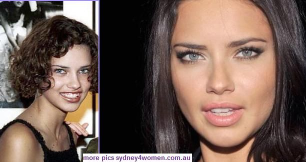 Adriana Lima Before After