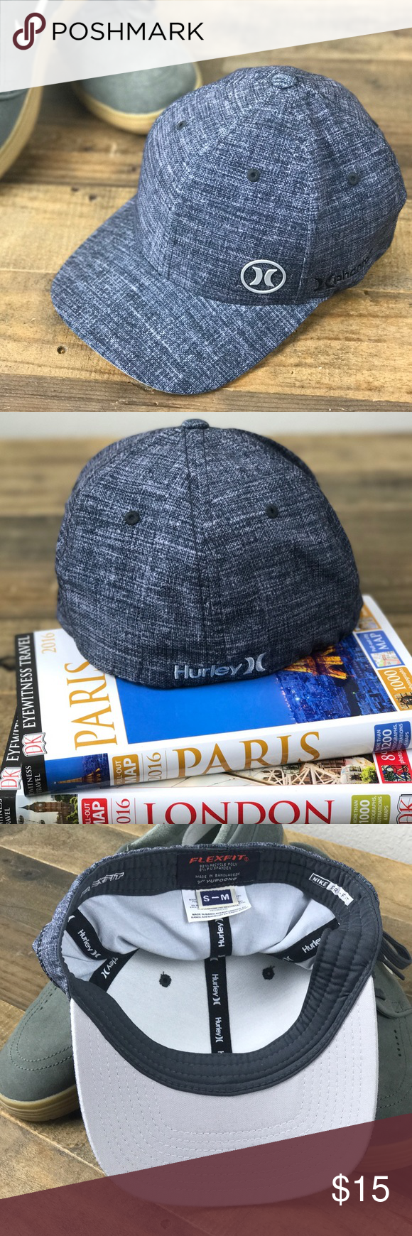 ... discount code for hurly phantom bp hat perfect condition hurley phantom  bp hat with nike flexfit 93a70e9a4394