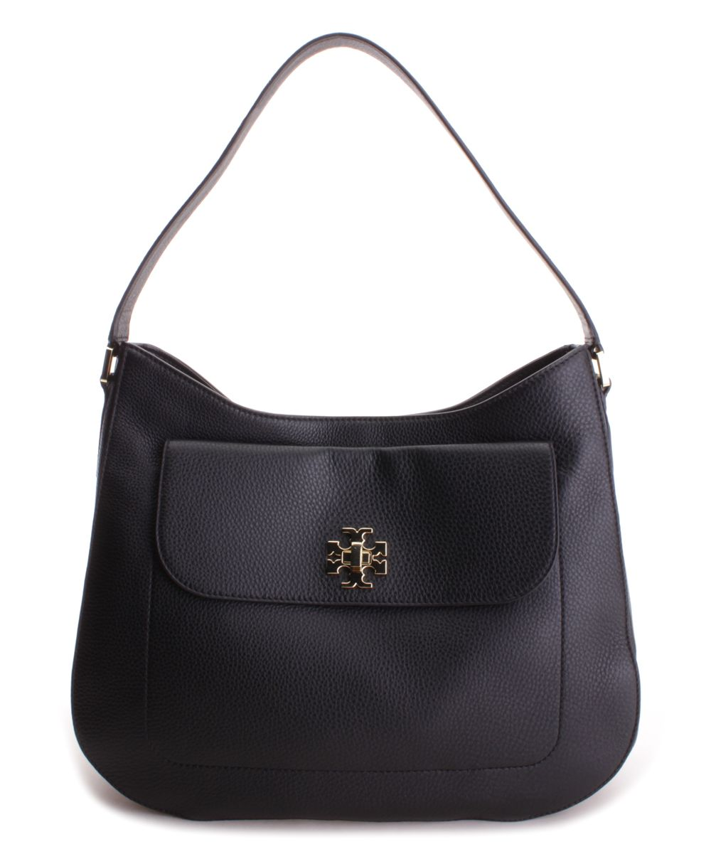 bfb66d57816d Love this Tory Burch Black Mercer Leather Hobo on