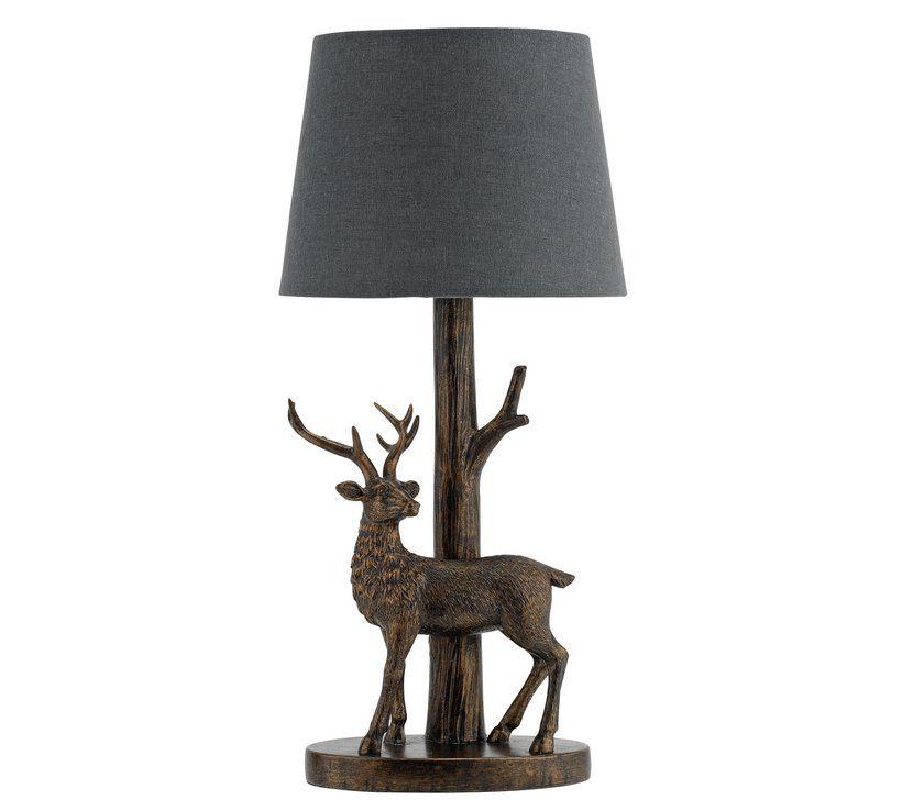 Sainsbury S Home Stag Lamp Sainsburys