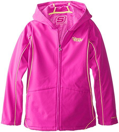 Twinkle Toes by Skechers Big Girls'  Soft Shell Jacket, Pink, 7/8 Twinkle Toes by Skechers http://www.amazon.com/dp/B00I5EDOEW/ref=cm_sw_r_pi_dp_c4YAub0C9Q9A9