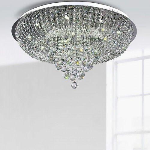 Krystall taklampe i klassisk moderne design - (MD8559-600MERS)