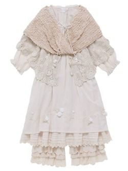 lace and shabby chic.