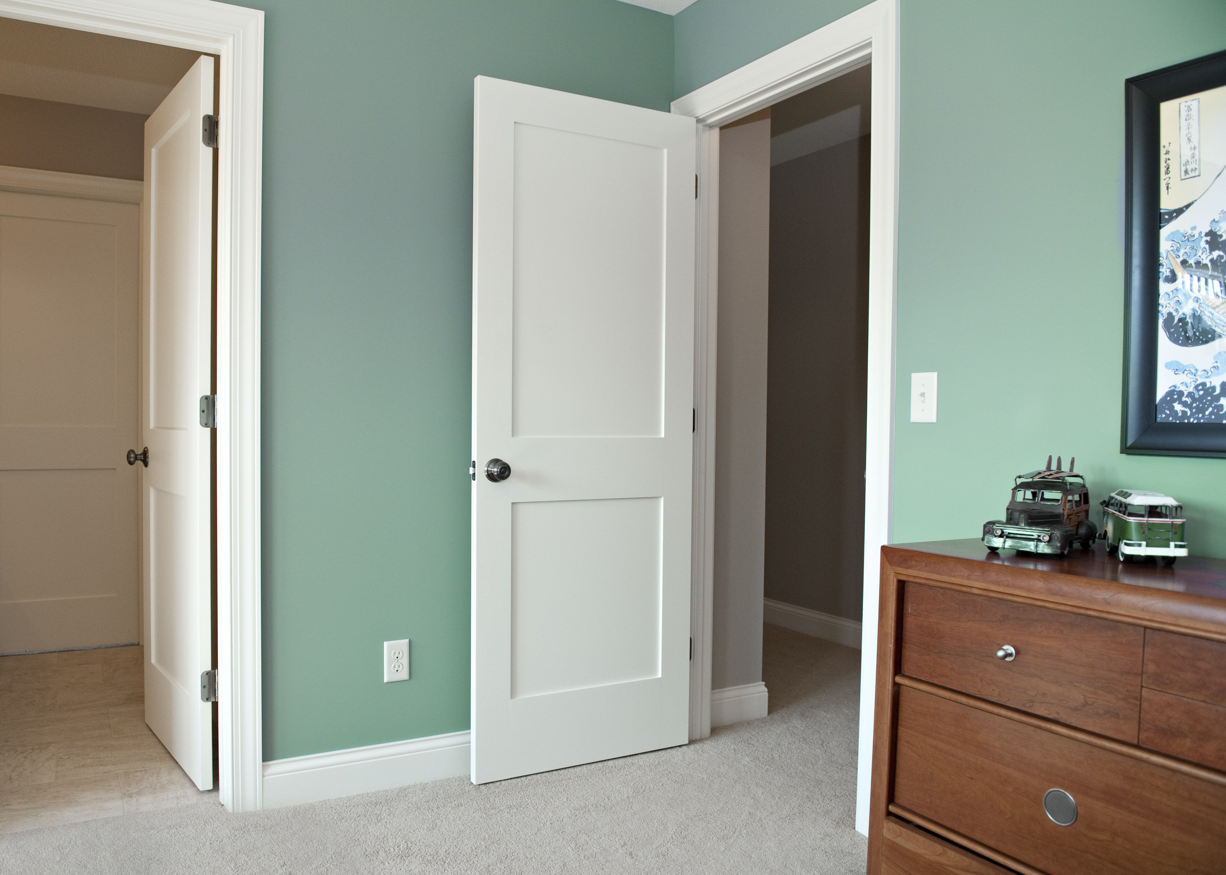 White interior doors 3 panel - Flat Panel Interior Doors Design And Description Interior