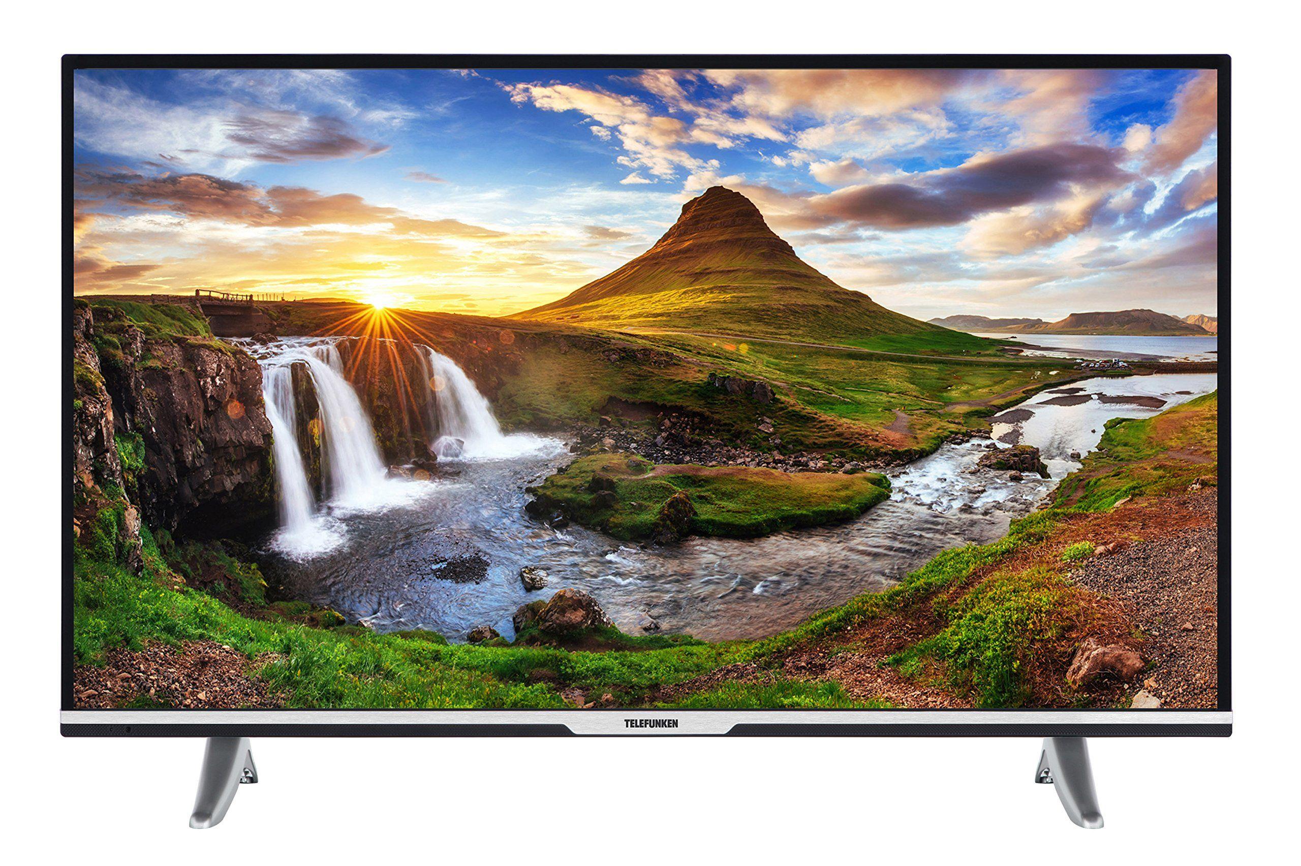 Telefunken Xu43d101 108 Cm 43 Zoll Fernseher 4k Ultra Hd Triple Tuner In 2020 Led Fernseher Fernseher Dvb T2