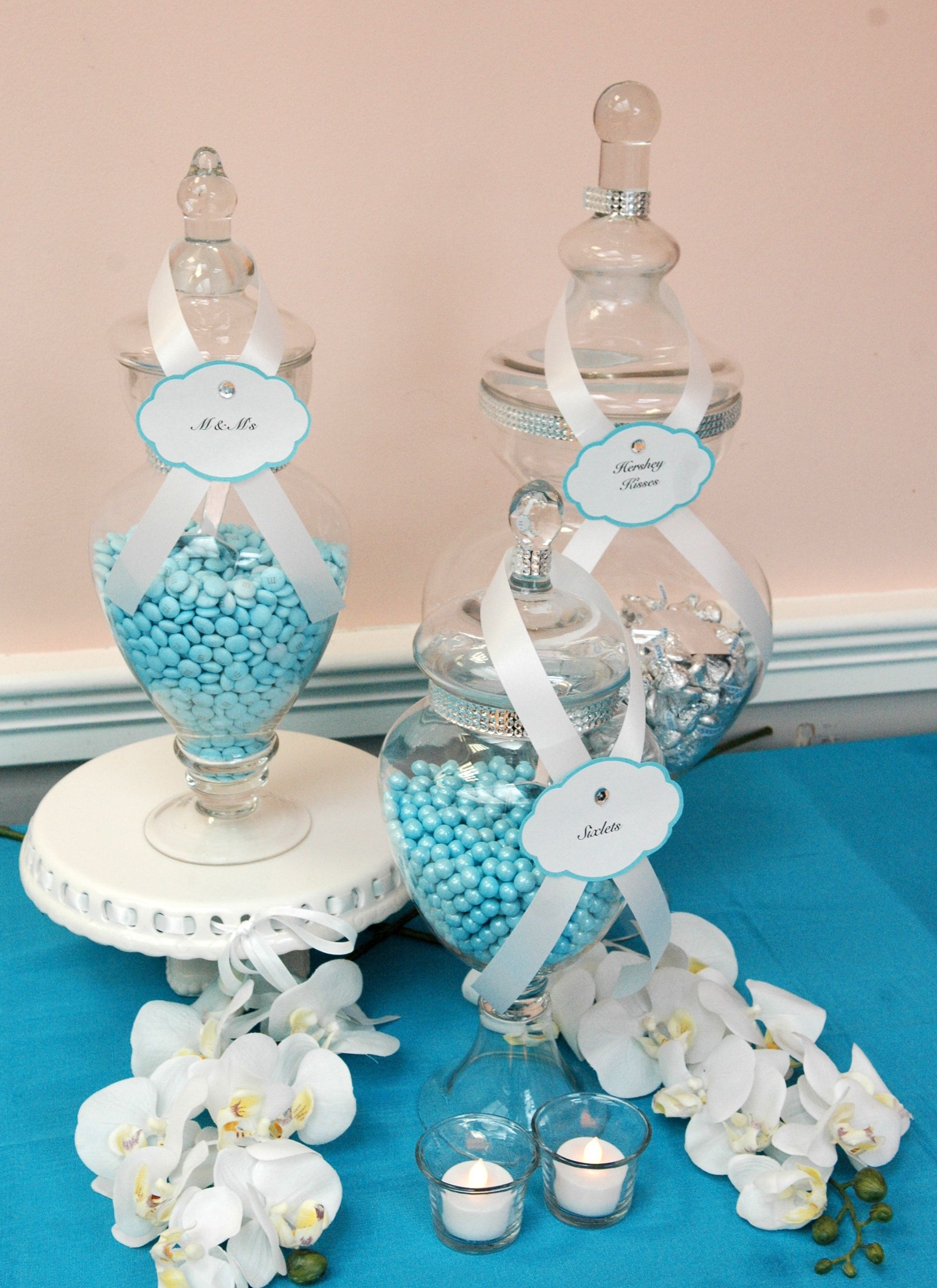my sisters tiffany theme bridal shower