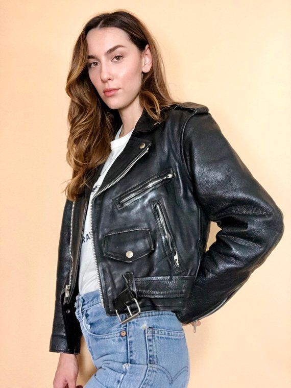 New Fashion Western Leather Women Jackets Pu Collar Womens Coat Black Females Motorcycle Jackets Female Ladies Zipper Overcoat Available In Various Designs And Specifications For Your Selection Basic Jackets Jackets & Coats