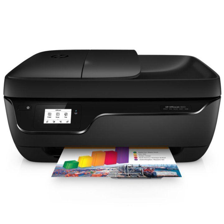 Hp officejet 3833 wireless allinone printer detail 1