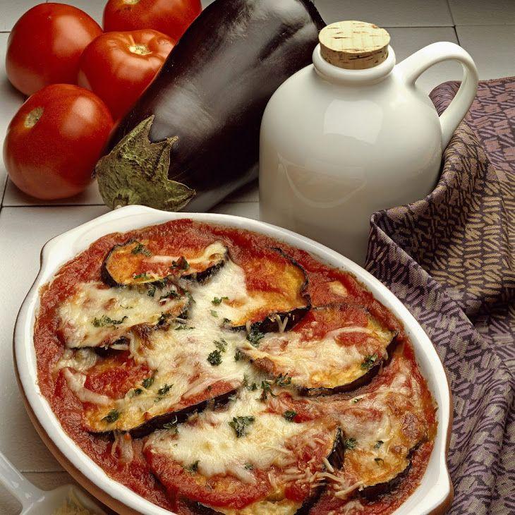 Valley Eggplant Parmigianino Recipe With Tomato Sauce