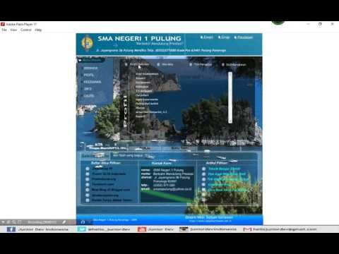 Profil Sekolah Sma Negeri 1 Pulung Ponorogo Dengan Adobe Flash