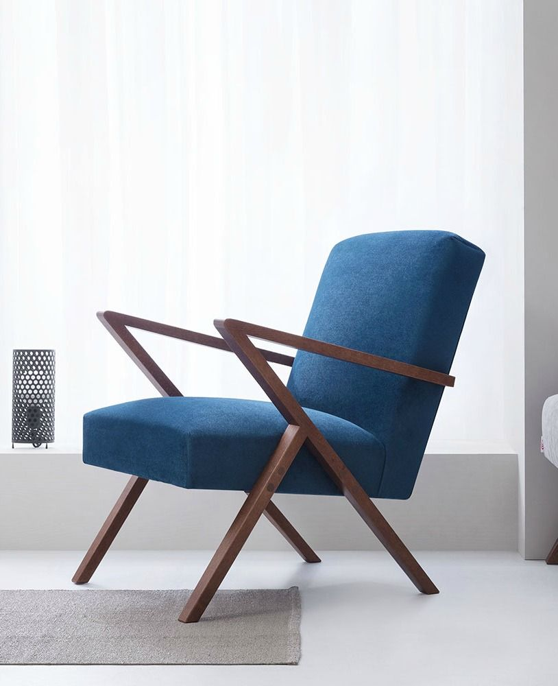 38+ Sessel mit hocker blau 2021 ideen