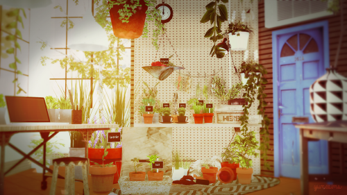 Sims 4 CC's - The Best: Plants and Stuff Garden Conversions by YumeSims