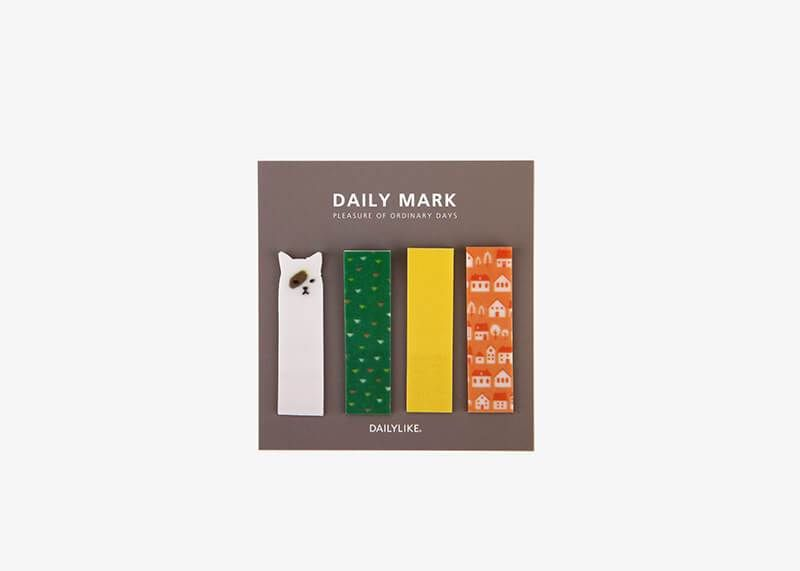 Daily Bookmark Adhesive Stationery Paper