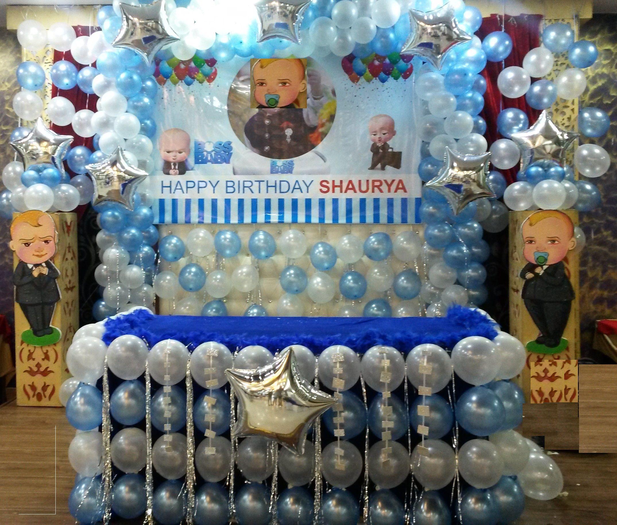 Big Boss Birthday Theme Decoration Birthday Theme Decoration