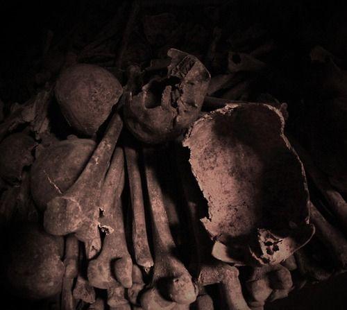 Catacombs, Paris.