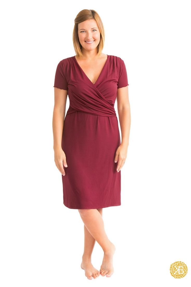 The Angelina Nursing & Maternity Nightgown | Nightgown ...