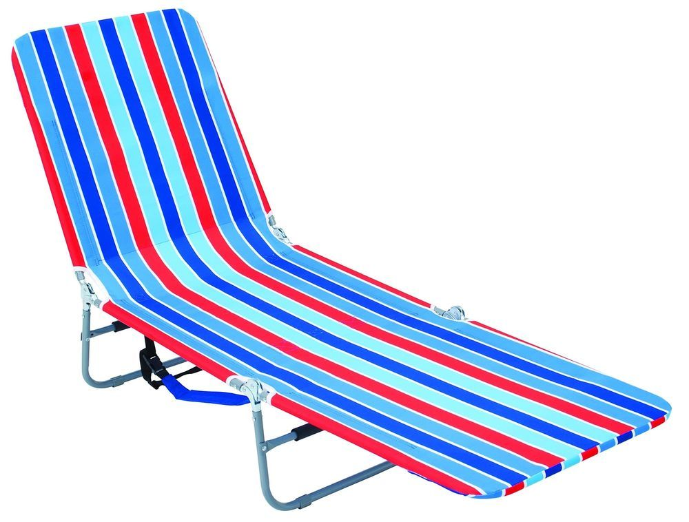 Rio Brands Outdoor Patio Yard Beach Multi Position Backpack Lounger Chair New